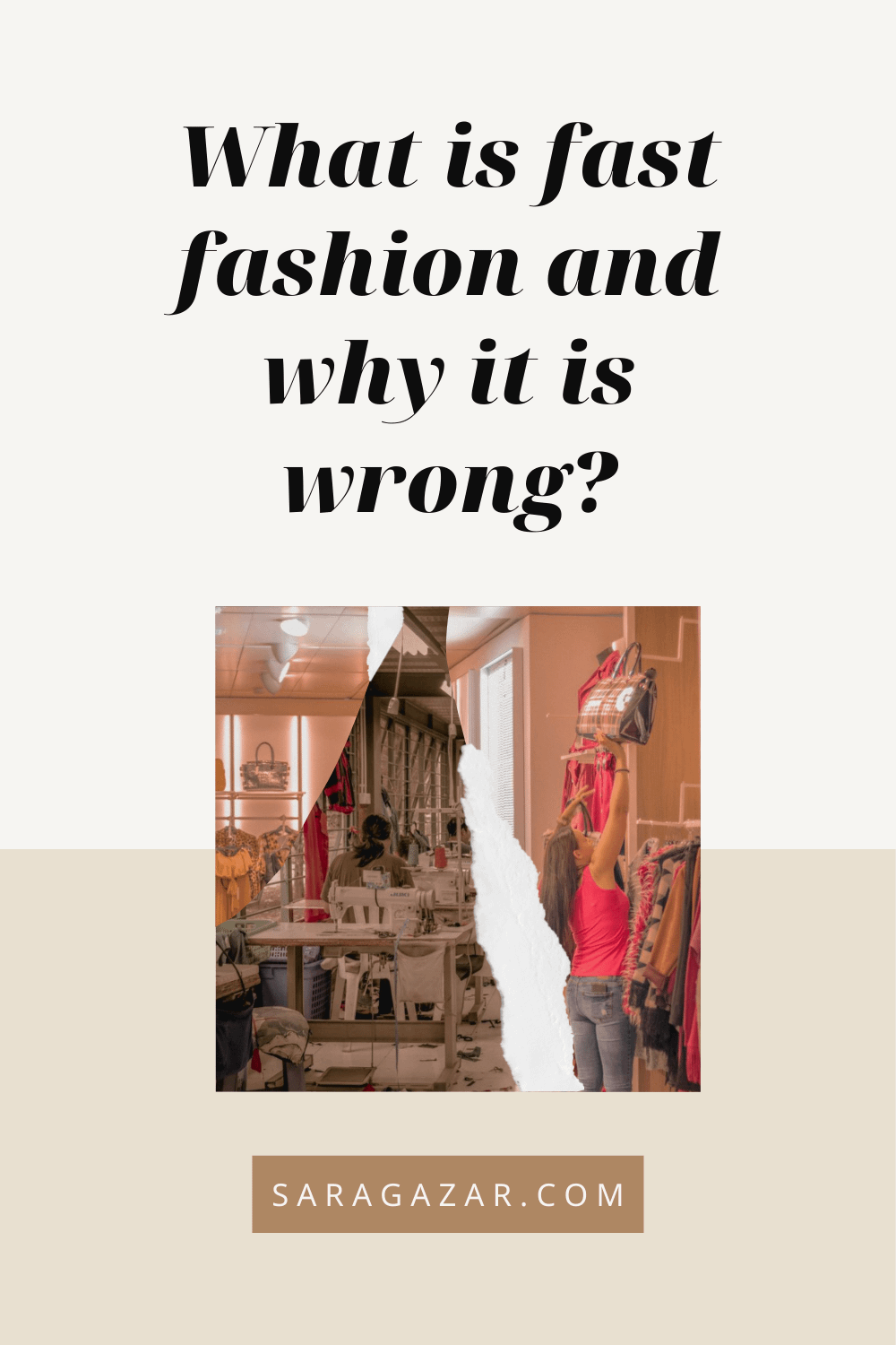 What is fast fashion and why it is horribly wrong?
