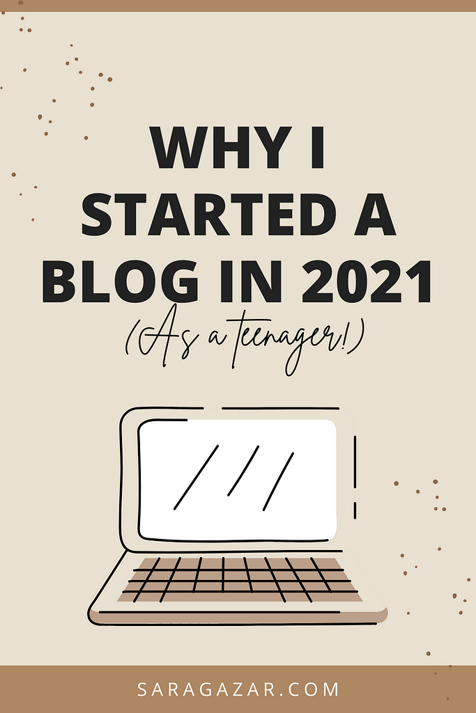 The reason of this blog Why I started a blog in 2021