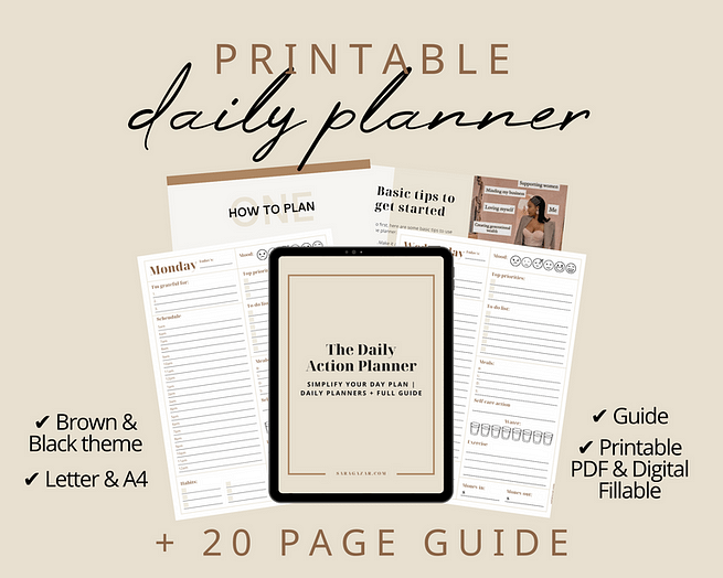The Daily Action Planner